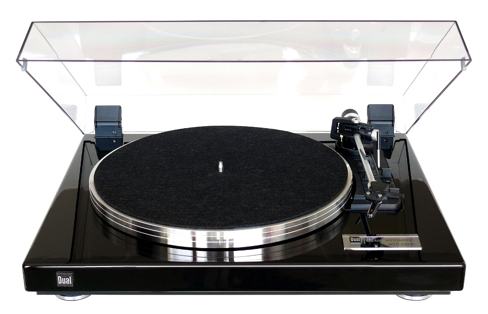 Dual CS 460 Platine Vinyle Automatique noyer