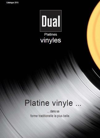 Catalogue Dual platines vinyles 2015